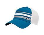 Callaway Stripe Mesh Fitted Cap - Blue/White